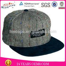 baby hat snapback cap/cheap custom embroidery flat brim snapback cap