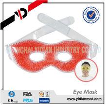 microwavable gel beads cool eye pad