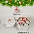 personalizado espuma de bola de natal com o desenho