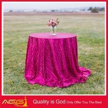 Venta al por mayor alta calidad de mesa de lentejuelas de tela de vinagre botella decorativa
