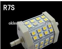 high quality ,New 5W R7S J78 24LED 5050 SMD Lamp Energy Saving Light Bulb 78mm