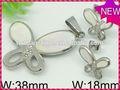 Design moderno e conjuntos de jóias de prata do vestido de casamento/jóias de prata esterlina