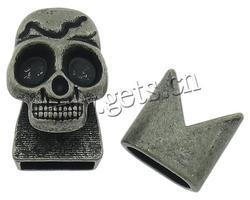 zinc alloy black leather motorcycle et
