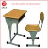 adjustable single desk and chair folding student desk