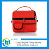 Large insulated cooler bag double layer multifunctional ice pack