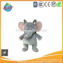 plush elephant backpack for children