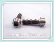 M5-0.8 Pitch x 17.5mm titanium tapered head screw