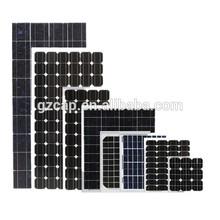 monocrystalline solar panel 100wp 100w 150w 200w 250w 300w 18v 36v with CE certification factory direct