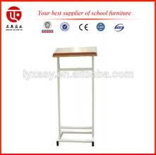 adjustable students desk chair podium stands wood