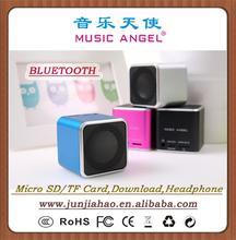 MUSIC ANGEL JH-MD06BT digital speaker bluetooth mini cube speaker mothers day gifts cheap