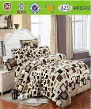 Korea style design flannel fleece blanket/throw/bedsheet/bed set /sabana