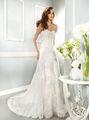 2015 nuovo stile fatto su misura elegante a- linea fidanzata in pizzo formale nozze abito da sposa abito di wd0861