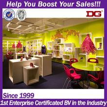 Interior Design Company For Ladies' Wood Shoes Shop Decoration Design