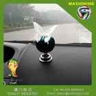World Cup Hot Sale Stainless Steel Swing Ball for Car Decoration
