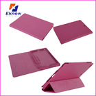 PU tablet leather case for ipad air Smart stand leather cover