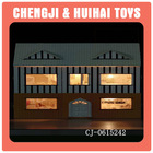 kids wooden diy miniatures doll house toys for sale