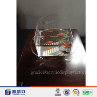 NEW Design!!!Factory Manufacturing Custom Modern Stylish Look Acrylic Fish Tanks For Restaurants