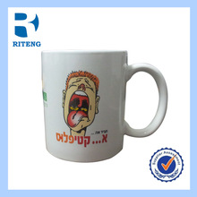 Professional custom cup cheap ceramic coffee mugs logo customized for office people