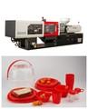 130 ton máquina injetora de plástico preço com servo motor completo e semi auto
