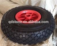 10 inch pneumatic rubber wheels 3.00-4
