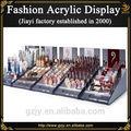 De encargo de acrílico maquillaje organizador y cosmética de acrílico expositores venta para cosméticos