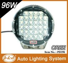 8500lm 96W Water proof led driving light led work light for ATV,UTV,Truck,4*4 off road use