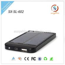 2600mAh Universal Portable USB Mobile Phone Solar Power Bank Battery Charger
