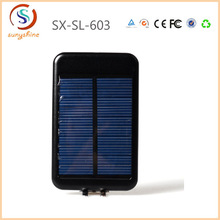 Universal Super Capacity 6000mAh Dual USB Rechargeable Mobile Phone Solar Power Bank Charger