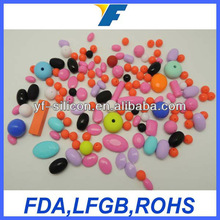 Popular Beautiful Decorative Silicone Beads Manufacture