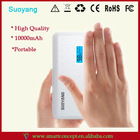 2014 News!!! USB Universal Smart Portable Power Bank 10000mAh Charger Tablet PC / Mobile Phone / MP3 / GPS Made In China