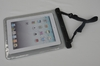 16P pvc waterproof bag for ipad air with clip