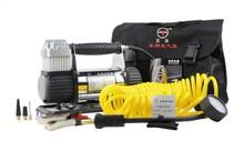 DC 12V metal air compressor/ air pump/ air inflator for car tire