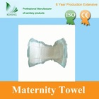 Ultra-Absorbent maternity sanitary underpad heavy flow women used maternity pads with loops
