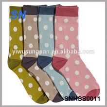 2014 fashion ladies polka dot socks