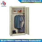 Steel two-door clothes cupboard design