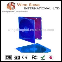 slim 5.2mm pp single cd cases wholesale blank cd dvd