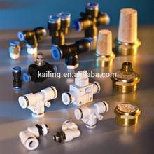 Montaje de neumáticos y conectores / neumático rápido conector de plástico montaje de neumáticos