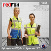 100 polyester reflective safety working waistcoat