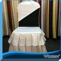 noir et blanc de mariage couverture de chaise pliante