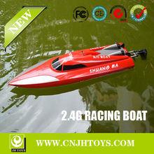Neue produkte doppel-pferd 7012 2,4 g 4-kanal ep High-Speed großen Rennen& servo rc boot