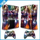 Game vinyl decal skin sticker for Xbox360 slim console accessories