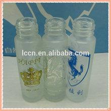 10ml deodorant glass roll on bottles, empty roll on bottle, cosmetic roll on bottles