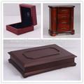 Antigüedades de lujo anillo de madera, caja de té, de madera caja del perfume