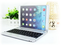 Factory offer for Ipad super slim magnet insertable mini wireless keyboard case P1305