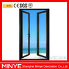thermal break aluminum casement door/aluminum doors exterior/aluminum residential doors