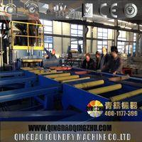 Roller Conveyor Aluminium Profile Shot Blasting Machine/Steel Bar Shot Blasting Machine