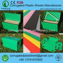 Polipropileno verde corrugado alveare di plastica de plástico de la colmena