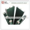 Plastic square column shuttering formwork for column concrete easy operation
