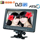 China supplier 9'' portable solar powered tv