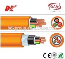 3 core electric cable 0.6/1kv copper cable v-90 pvc cable